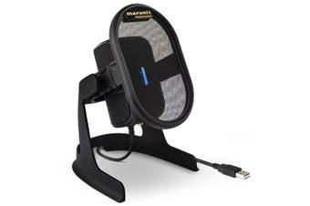 Marantz Pro Umpire Desktop Cardioid USB Condenser Microphone Recording Mic Black