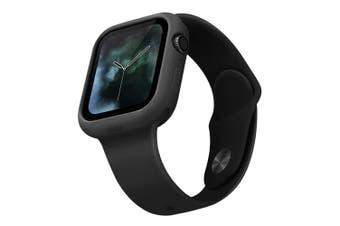 Uniq Lino Hybrid Silicone 40mm Case/Protection for Apple Watch Series 4 Black