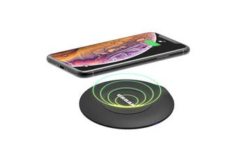 Urban Disc 15W Fast Wireless Charging Qi Charger Pad/Type-C Cable f/ Smartphones