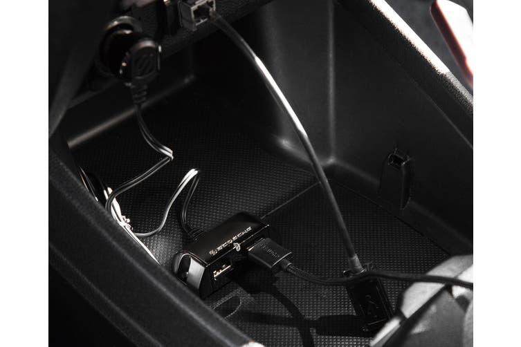 4PK Scosche PowerHub 10W Mountable Port USB Cigaret Car Charger for Smartphones