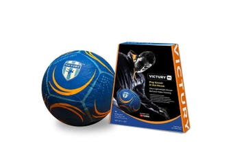 Victury V1 Size 5 Shock Absorb Indoor Inflatable Soccer Ball Game Play Kids 5y+