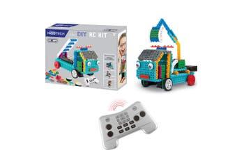 Vivitar DIY 4 in 1 RC Remote Control Truck/Train/Duck Robot Kit Kids Tech Toys