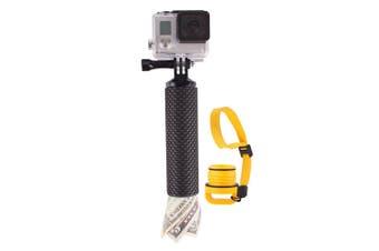 Vivitar Floating Hand Grip Holder Handheld Mount for Action Camera/Go Pro Black