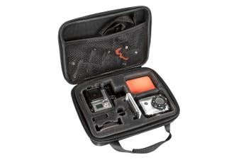 Vivitar Hard Shell Case/Storage Accessories Organiser for Go Pro Action Camera