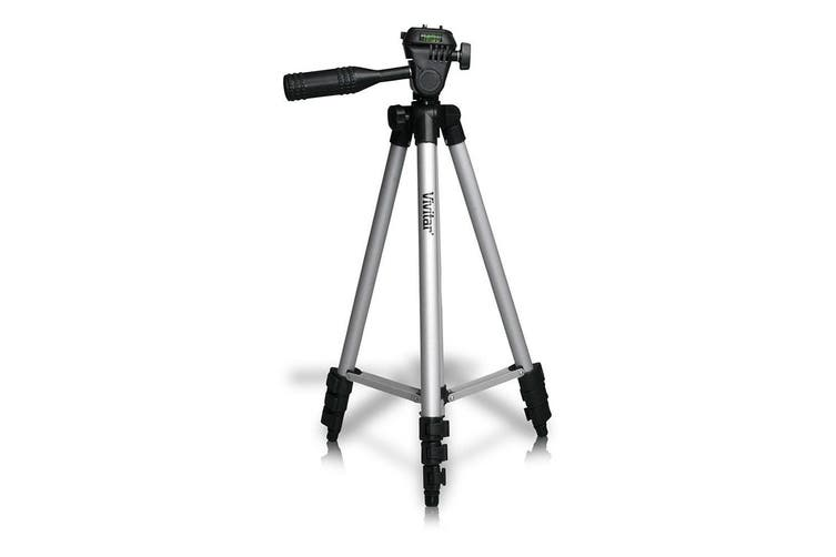 "Vivitar Take a Stand 50"" Professional Photo/Video Tripod/Stand for Camera/DSLR"
