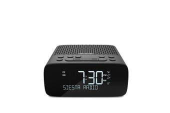 Pure Siesta S2 DAB/DAB+/FM Digital Radio w/Headphone Jack/Alarm Clock Graphite