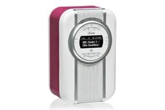 View Quest Purple Christie DAB+ FM Digital Radio/NFC Bluetooth Portable Speaker