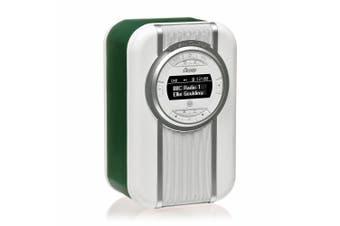 View Quest Green Christie DAB+ FM Digital Radio/NFC Bluetooth Portable Speaker