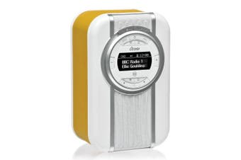 View Quest Mustard Christie DAB+ FM Digital Radio/NFC Bluetooth Portable Speaker