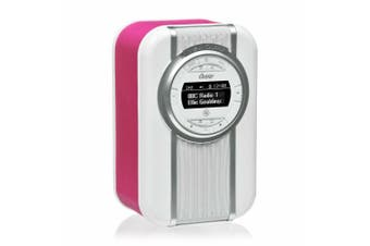 View Quest Pink Christie DAB+ FM Digital Radio/NFC & Bluetooth Portable Speaker