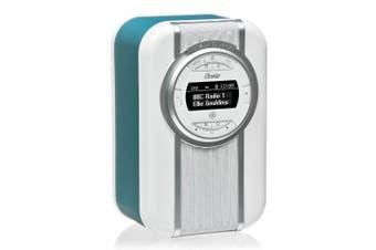 View Quest Teal Christie DAB+ FM Digital Radio/NFC Bluetooth Portable Speaker