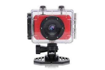 Sport Action Camera Video HD 1080p Recorder Helmet Mount Record Mic Waterproof