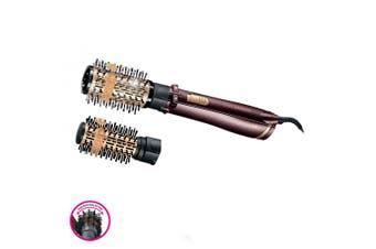 VS Sassoon Frizz Defense Rotating Hot Air Styler 50mm/38mm Hair Brush Dryer
