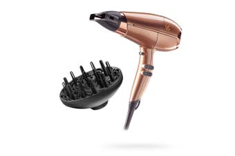 VS Sassoon 2100W Keratin Protect/Ionic/Frizz Free Hair Dryer/Styling w/ Diffuser