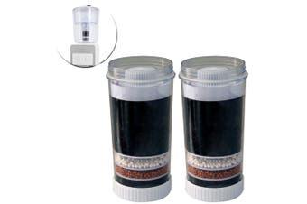 2PK Lenoxx Porcelain Water Purifier/Cleans Cartridge Replacement Filter f/ WC250