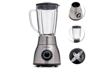 Westinghouse 1200W 1.8L Glass Jug Stainless Steel Blender/Smoothie Ice Crusher