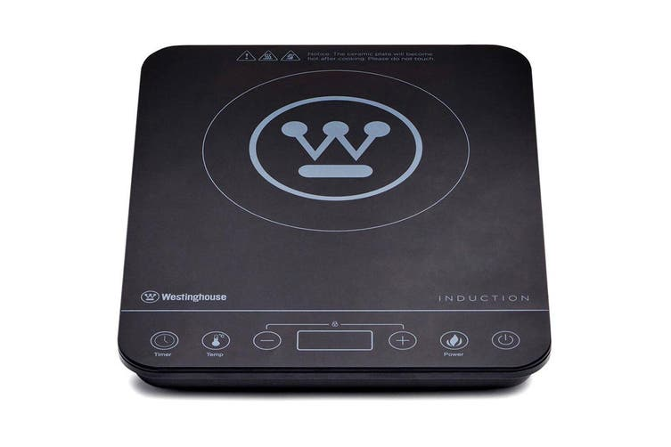Westinghouse Electric 2000W Slimline Portable Induction Cooktop w/ LED Display