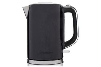 Westinghouse 1.7L 2200W Cordless Kettle/Boiler Coffee/Tea w/ Rotating Base Black