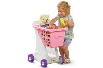 Little Tikes Shopping Cart Pretend Play/Educational Toys Kids/Toddler 18m+ Pink
