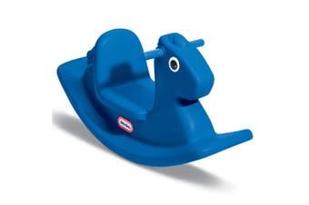Little Tikes Rocking Horse/Pony Kids/Toddler Children Ride On Toy 12m-3y Blue