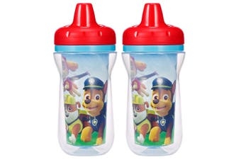 2PK The First Years Paw Patrol Insulated Sippy 266ml Drinking Cup Baby/Toddler