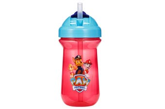 1pc The First Years Flip Top Straw Cup Baby/Toddler 18m+ Water Bottle Paw Patrol