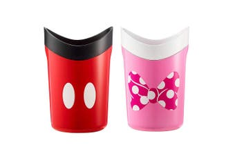 2PK The First Years Disney Minnie/Mickey Mouse Rinse/Shower/Bath Cup Infant/Baby