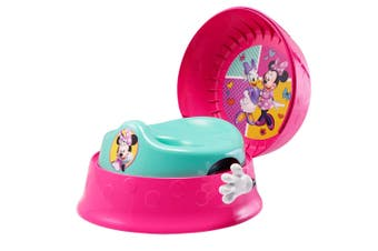 The First Years Disney Minnie Mouse 3-in-1 Children Potty System Toilet Training