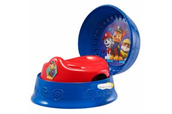 The First Years Paw Patrol 3-in-1 Potty System Kids/Toddler Toilet Training Step