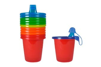 6x The First Years Spill Proof Sippy Drink Cups BPA Free Baby/Toddler Infant 6m+