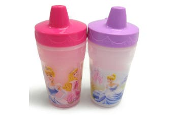 2PK The First Years Princess Insulated Sippy 266ml Drinking Cup Baby/Toddler