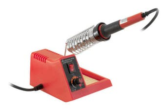 Doss ZD99 48W Soldering Iron Station Kit Adjustable Temp Multi-Purpose Tool Red