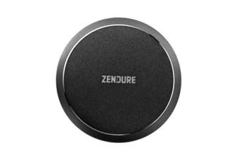 Zendure Q4 Luxury Qi Wireless Phone Charger Pad/Mat For Apple/Android Phone BLK