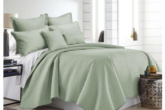Ramesses 7 Pieces Premium Hotel Comforter Sets King Sage Green