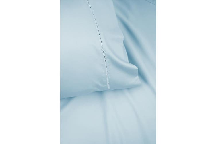Ramesses Bamboo 400Thread Count Sheet Set KING - Pearl Blue