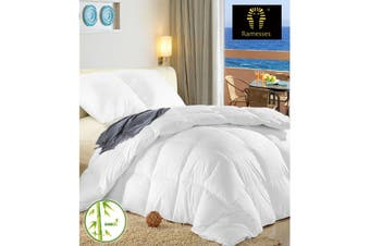 Ramesses Anti-Bacterial & Hypoallergenic Ultra Soft Bamboo Microfibre Quilt 400GSM-King Single
