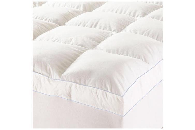 1000 GSM Cooling Bamboo Mattress Topper-Single