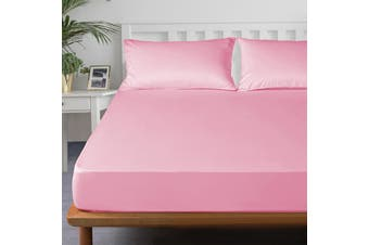 Royal Boutique 100% Egyptian Cotton 2000 Series Combo Set King - Rose Pink