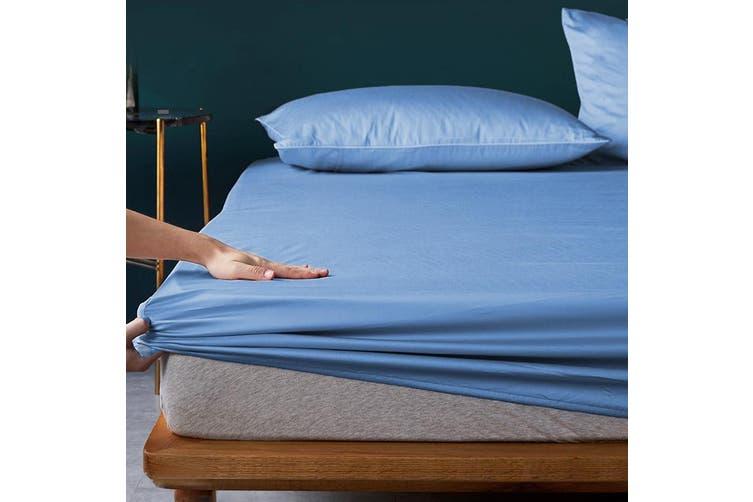 Royal Boutique 100% Egyptian Cotton 2000 Series Combo Set Single - Blue Mist