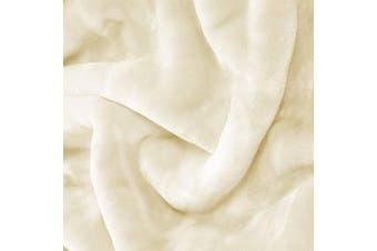Mink Blanket S/Cream