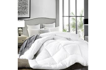 Ultra Warm Winter Microfibre Down Quilt 1200GSM-King