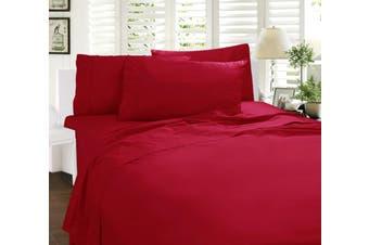 Paris Romance Sheet Set Single Red