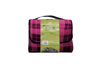 Kingdom Waterproof Picnic Rug - Pink