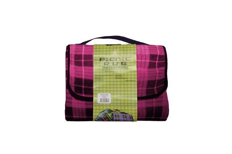 Kingdom Waterproof Picnic Rug - Pink