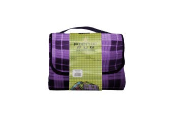Four Pack Kingdom Waterproof Picnic Rug - Purple