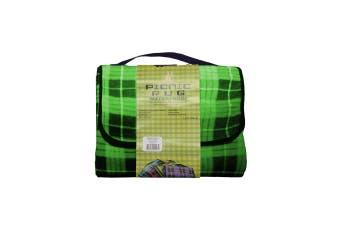 Kingdom Waterproof Picnic Rug - Green