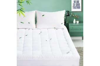 Shangri-La Five Star Cooling Bamboo Mattress Topper-King