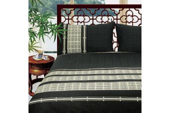 100% Egyptian Cotton 250 Thread Count Printed Quilt Covers Queen - Emperor