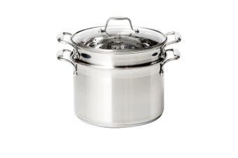 Wolstead Steeltek Stainless Steel 3pc Multi Pasta Pot Set