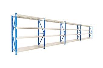 Garage Storage Steel Rack Shelving 1.5m-wide 400kg